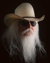 LEON RUSSELL. PHOTO BY MATT HESSON.