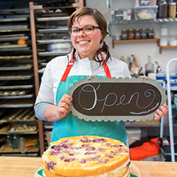 A new bakery, another inch on the waistline