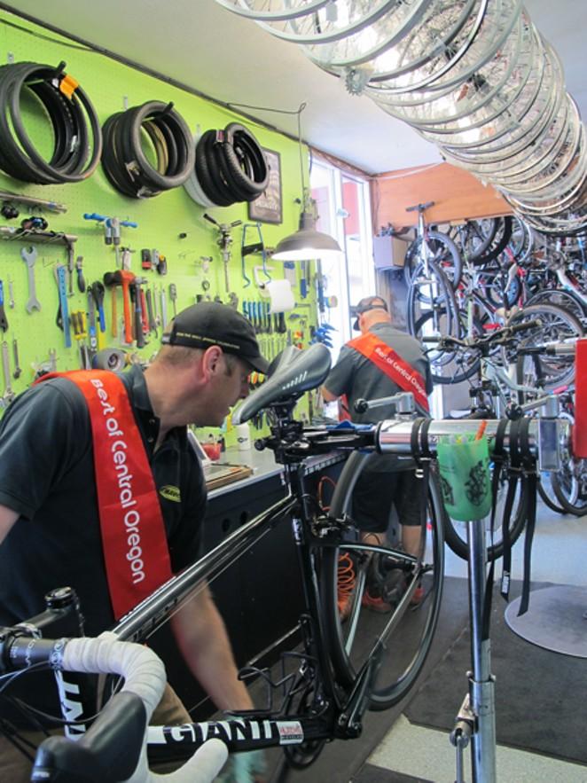 Best Bike Shop: Hutch's Bicycles - BRIANNA BREY