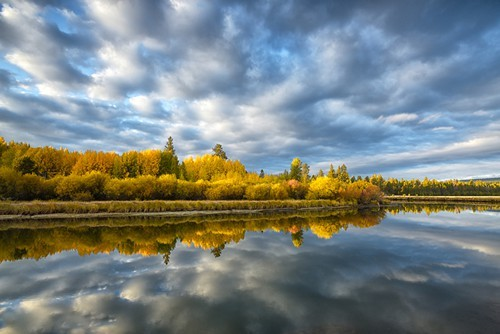 Fall Colors along Deschutes River