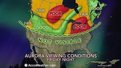Friday nights forecast