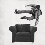 MATT EBBING - Get comfy, the Armchair storytelling event is back Feb. 20.