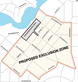 CITY OF BEND - If City Council gives a second vote of approval June 3, the civil exclusion zone will expand to encompass most of downtown Bend.