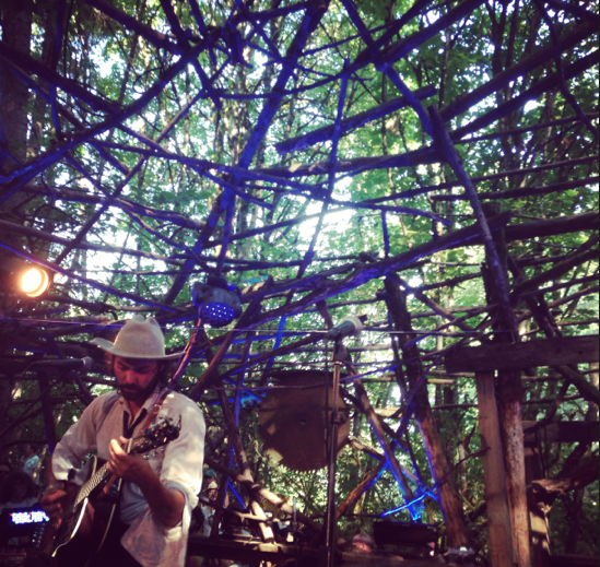 Shakey Graves at Pickathon 2014 - BRIANNA BREY