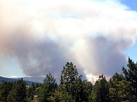 Fires Reported Near Tumalo Reservoir