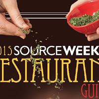 The 2015 Restaurant Guide