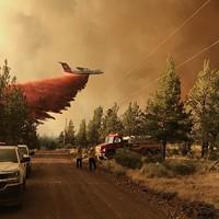 Grandview Fire Nears Sisters