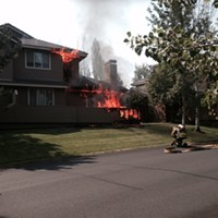 Fire damages Broken Top duplex