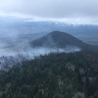 Milli Fire Near Sisters Grows