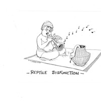 TGIF: Reptile Disfunction