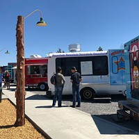 East Side food truck lot open and poppin'