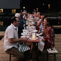 Dock Dinners Feature PNW Restaurants & Wineries at The Suttle Lodge