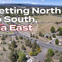 Getting North to South Via East