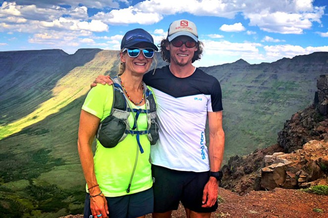 Kari Strang and Max King share a vision for the future of the Bend Marathon, set for April 20. - PHOTO COURTESY OF MAX KING