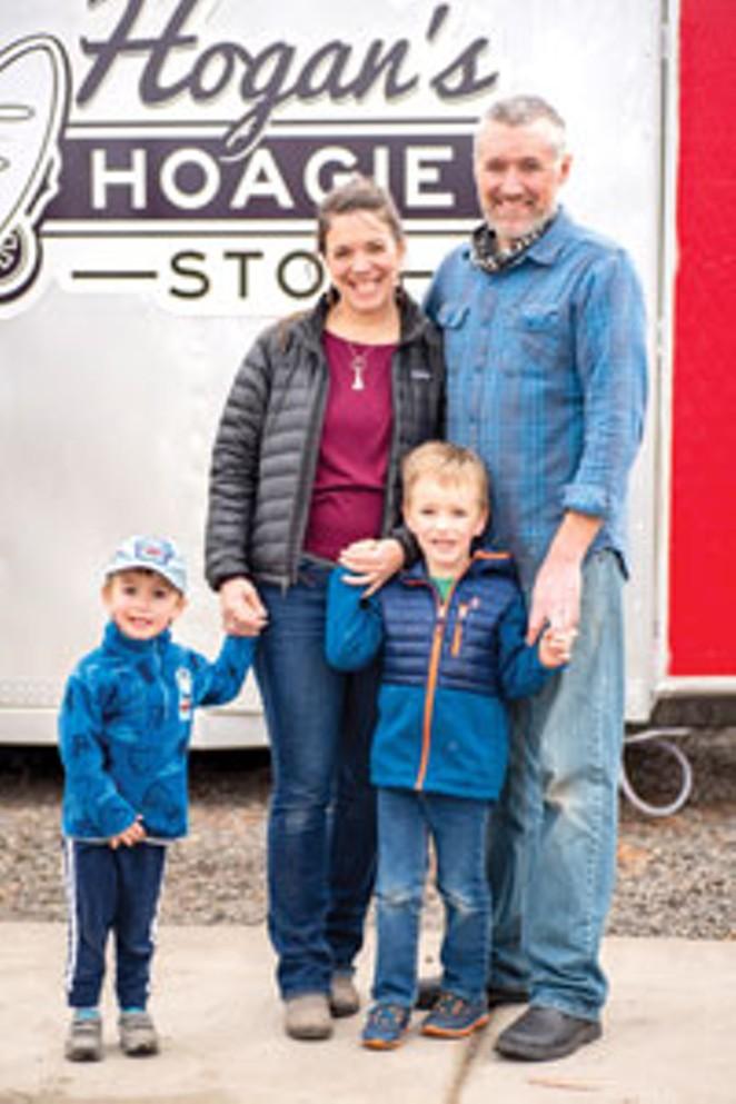 HILLARY & JASON HOGAN & FAMILY - DANIEL ROBBINS