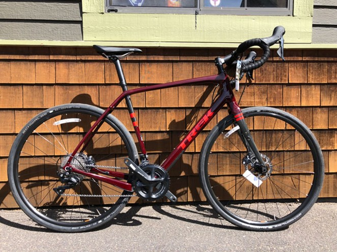 Get yer gravel on on this carbon frame gravel bike from Trek. - CHRIS MILLER