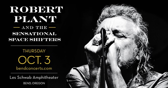Gung Ho For Shows: Robert Plant and The Sensational Spaceshifters