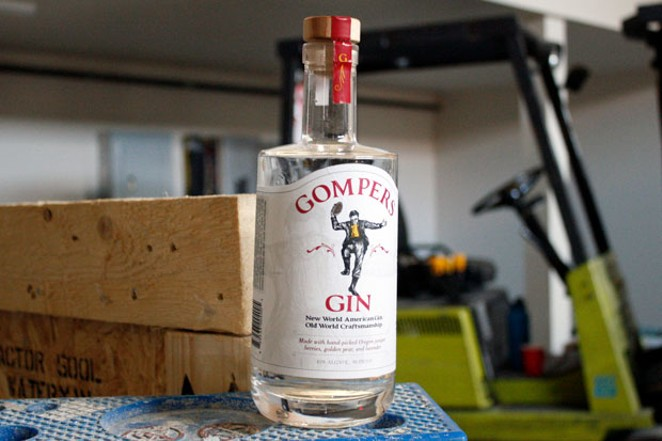 Gompers Gin, inspired by the owners' family members who survived the Holocaust. - KEELY DAMARA