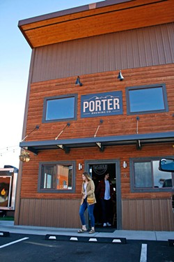 Porter Brewing, one of several drink spots in the new Jackpine Court. - KEELY DAMARA