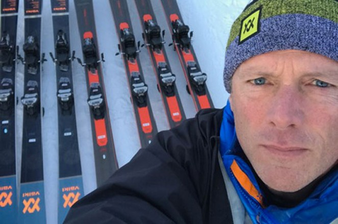 Barry Galvin skied his way into his career. - SUBMITTED