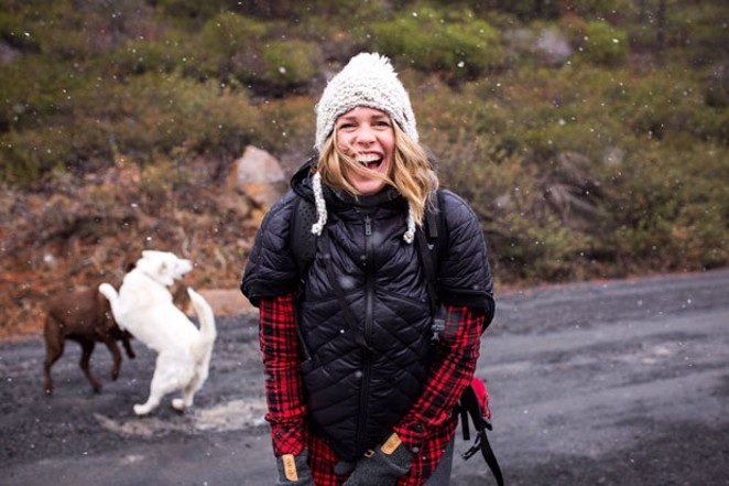 Abby Seymour paired her passions with a career in the outdoor industry. - SUBMITTED