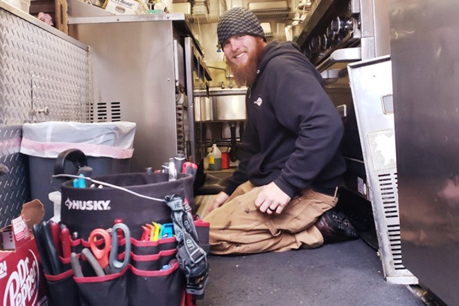 Michael Cox customizes a variety of mobile businesses, from fully customized trailers to repairs and modifications. - COURTESY COX FAMILY