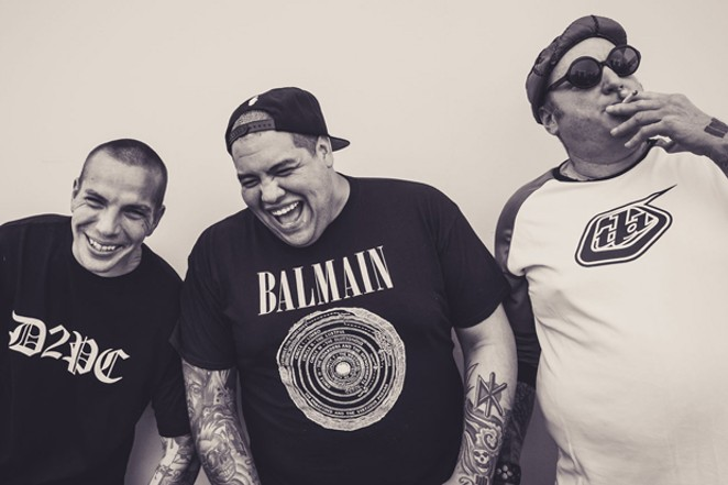 The boys of Sublime with Rome will have a new album of material to play in Bend 6/22. - ANDREAS RAMIREZ