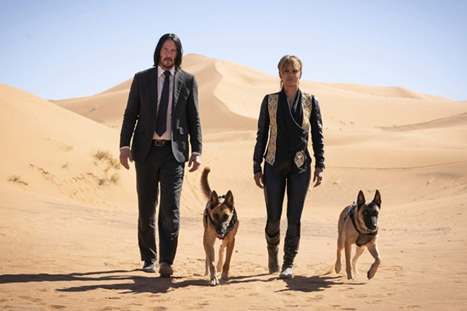 I never knew the John Wick movies needed Halle Berry, but here we are. - COURTESY OF LIONSGATE