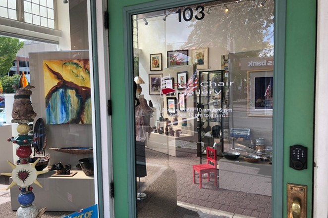 Got art to share? Red Chair Galllery downtown may just be the place. - TEAFLY PETERSON