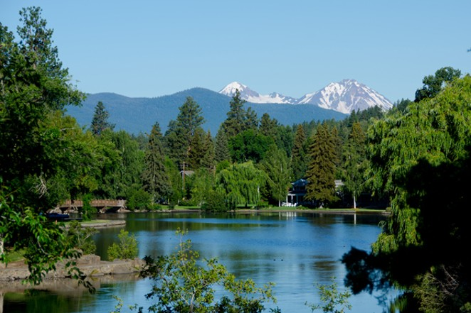 The tranquil waters of Mirror Pond need a tidal wave of community input. - WIKIMEDIA COMMONS
