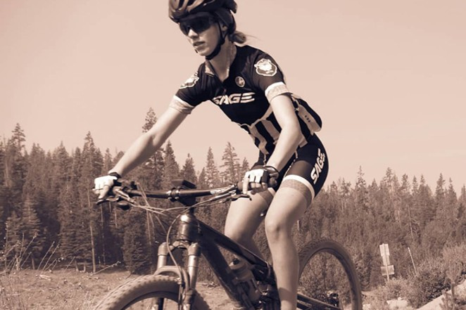 Cyclist Natasha Visnack says mentors have shown her the joys of her sport. - COURTESY  NATASH VISNACK