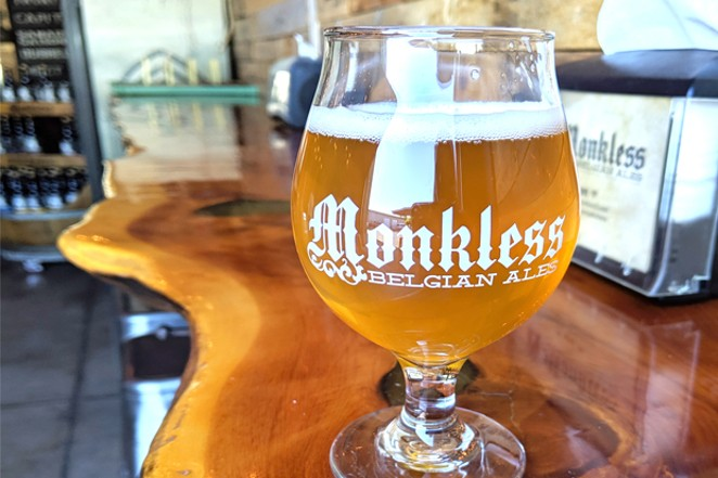 Trinity Belgian Tripel from Monkless. - HEIDI HOWARD