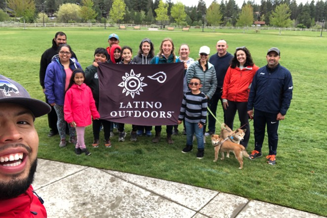 Everyone is welcome to join the next Latino Outdoors hike on June 22. - ZAVIER BORJA