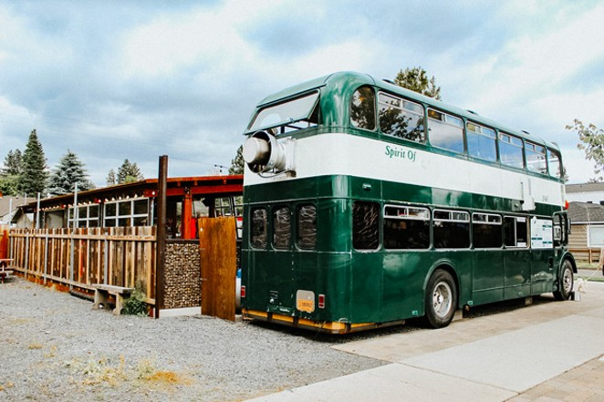 What once served as a tour bus in the UK during the 1960s now serves up fried chicken and waffles, and other hearty favorites. - NANCY PATTERSON