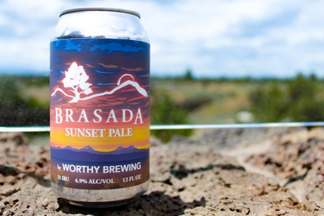 Sunset Pale Ale tastes like summertime, from sunrise until sunset. - NANCY PATTERSON