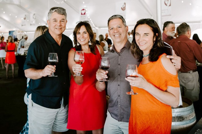 Events at Cork & Barrel include dinners paired with Southern Oregon wines, as well as the Grand Cru fundraiser Saturday night. - SUBMITTED