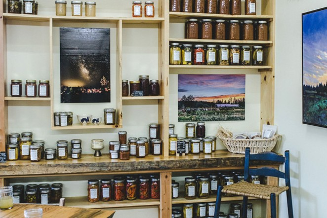The Rainshadow Organics Farm Store is open Wednesday through Saturday. - TAMBI LANE PHOTOGRAPHY