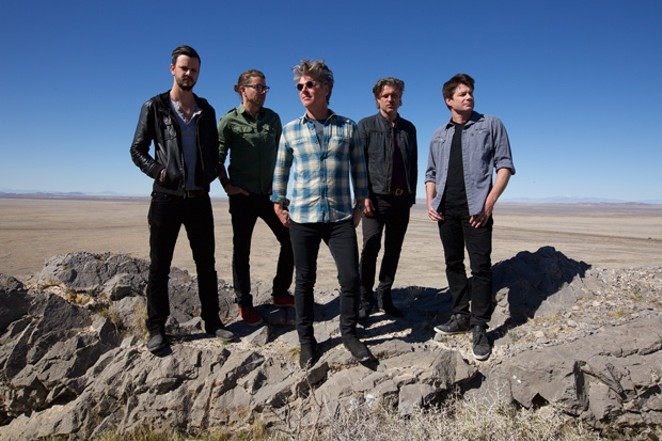 Collective Soul is the first in a star-studded concert lineup at this year's Deschutes County Fair & Rodeo—which includes Old Dominion Thursday, Nitty Gritty Dirt Band Friday and Michael Ray Saturday. - JOSEPH GUAY