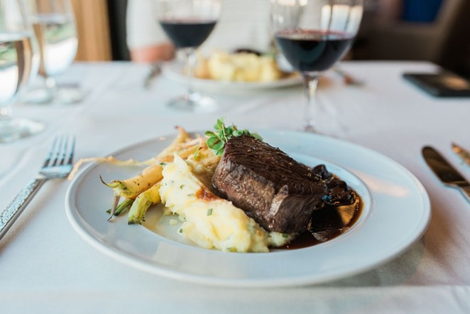 Filet of beef at Tetherow. - PHOTOGRAPHY IN BEND