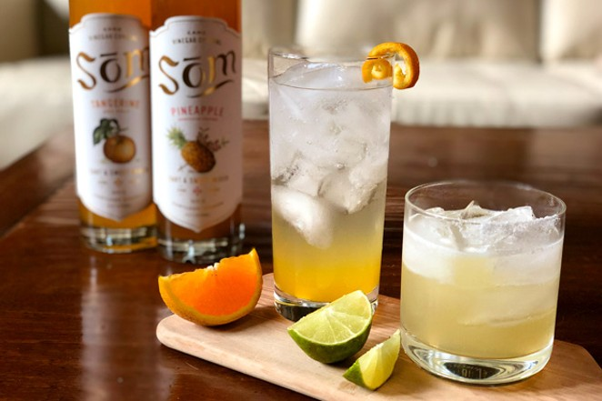 To spice up summer sipping, turn your tastebuds onto exotic vinegars. - LISA SIPE
