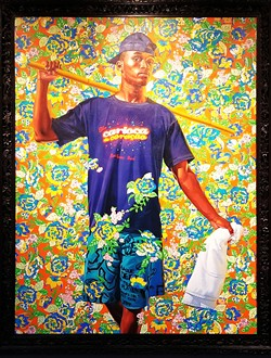 Indio Cuauhtemoc (The World Stage Brazil). 2017. By Kehinde Wiley - CARI BROWN