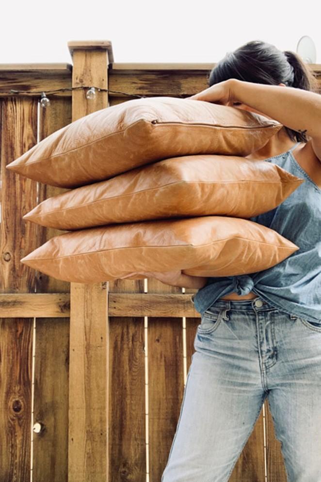 Pillows: DimePieces - AUSTIN MONTREIL LEONARD