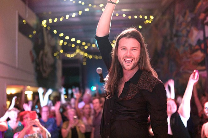 Keith Harkin sings at The Domino Room Monday, Sept. 16. - SUBMITTED