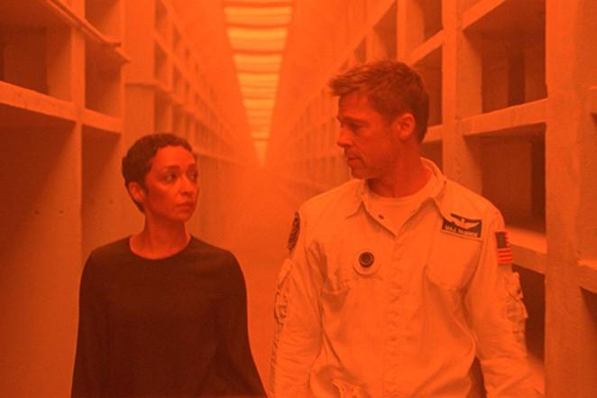 Brad Pitt and Ruth Negga vs. solar flares. - PHOTO COURTESY OF WARNER