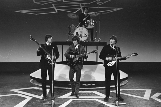 At the KPOV Beatles singalong, local bands will play songs by these four mop-tops. - WIKIMEDIA COMMONS