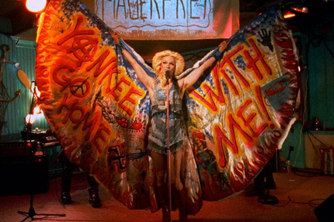 """John Cameron Mitchell in """"Hedwig and the Angry Inch."""" - PHOTO COURTESY OF WARNER"""