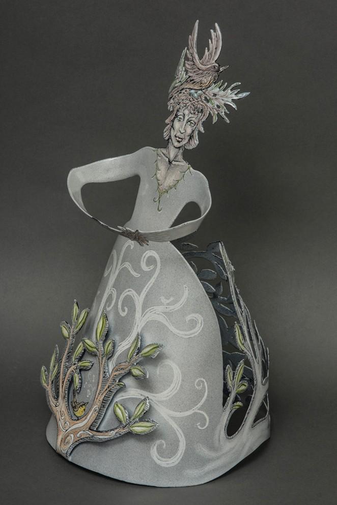 "Right, ""Nesting Maiden."" - ALISA LOONEY"