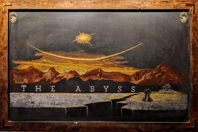 Chalkboard art at the Deschutes Brewery Downtown Public House. - HEIDI HOWARD
