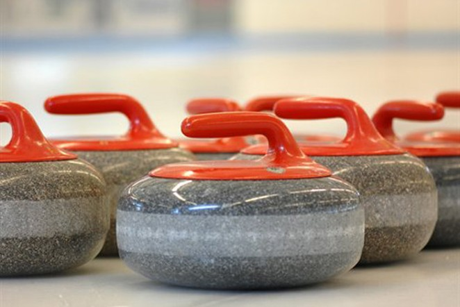 Get your stones on with Bend Curling. - COURTESY DEPT OF DEFENSE