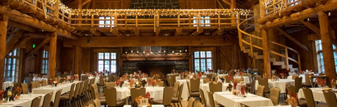 Sunriver Resort hosts both visitors and locals at its Thanksgiving meal. - COURTESY SUNRIVER RESORT